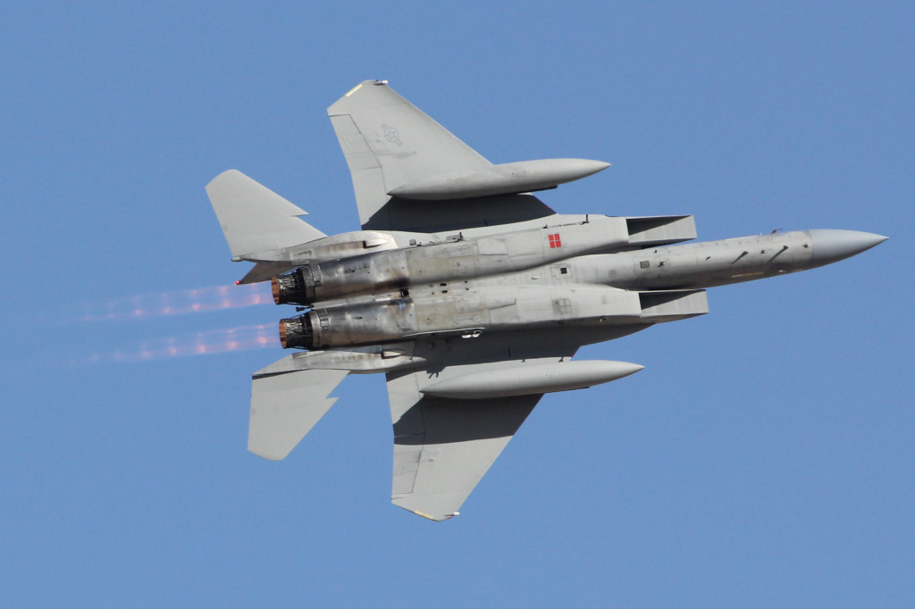 F-15 C Air to Air demo