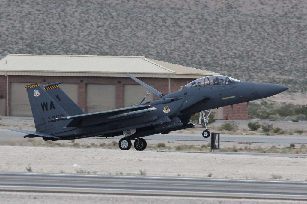 F-15 E Landing