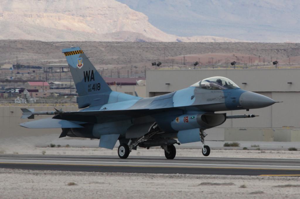 F16 Agressor Flanker Scheme