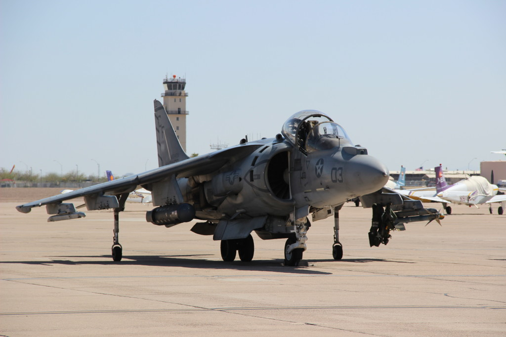 AV-8B VMA-211, March 2013 Mesa-Williams Gateway