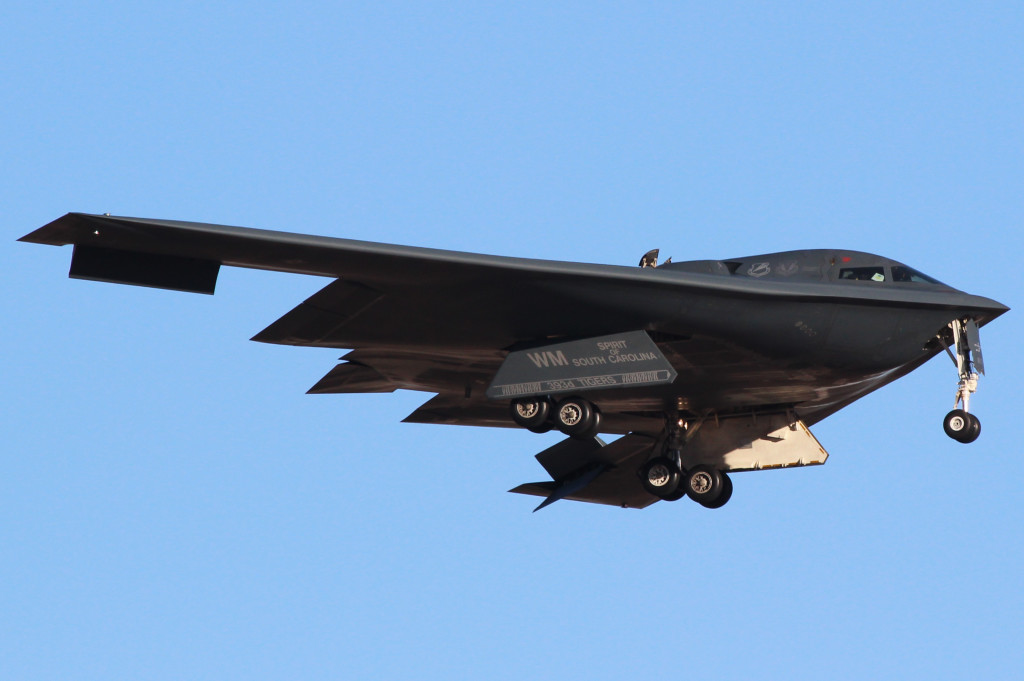 B2 Spirit of Soth Carolina, Red Flag 2013 -3 March 2013 Nellis AFB, Nevada
