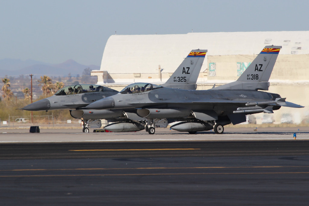 F16 Double Take off