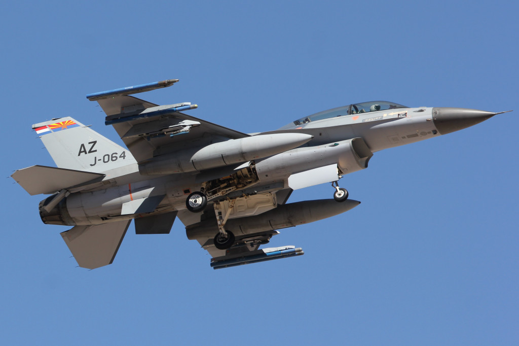 F16 J-064 RNLAF 148FS, March 2013 Tucson IAP