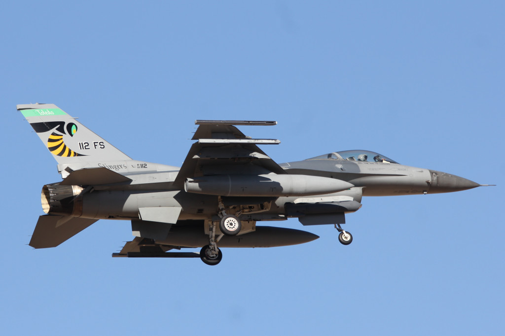 F16C 112FS Ohio ANG Toledo ANGB, March 2013 Davis-Monthan AFB