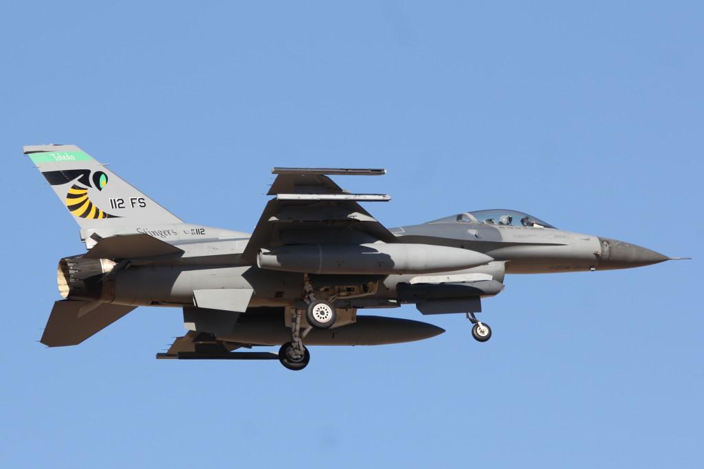F16C 112FS Ohio ANG Toledo ANGB, March 2013 Davis-Monthan AFB