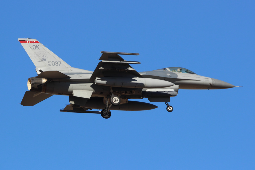 F16C Oklahoma ANG