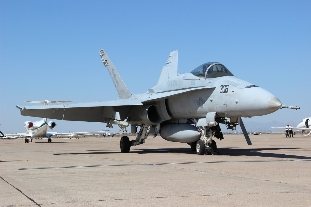 F18C VFA-106, March 2013 Mesa - Williams Air Station