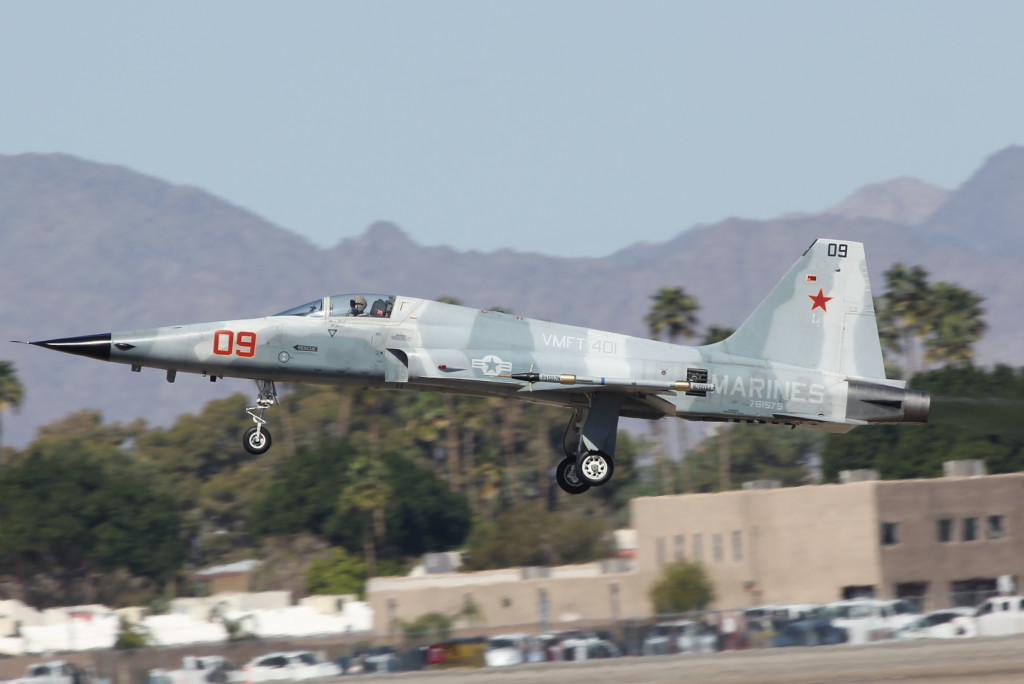 F5 E Agressor, Yuma Airshow March 2013