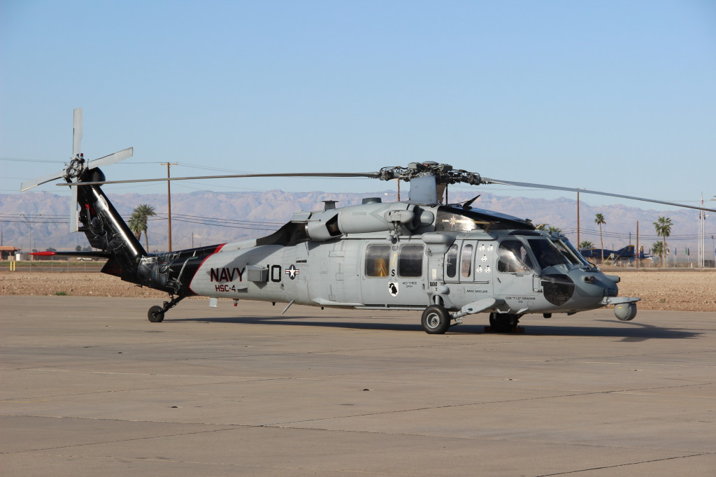 MH-60S Sea Hawk HSC 4 Black Knights, March 2013 NAF El Centro Airshow