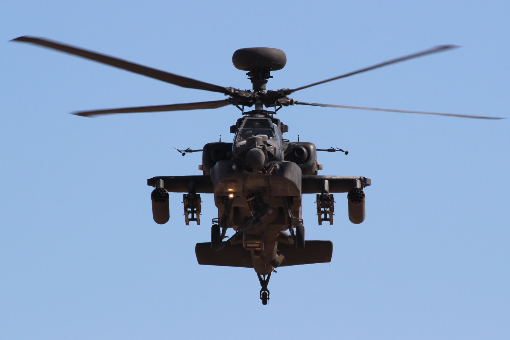 AH-64 Apache UK Army Corps, March 2013 NAF El Centro