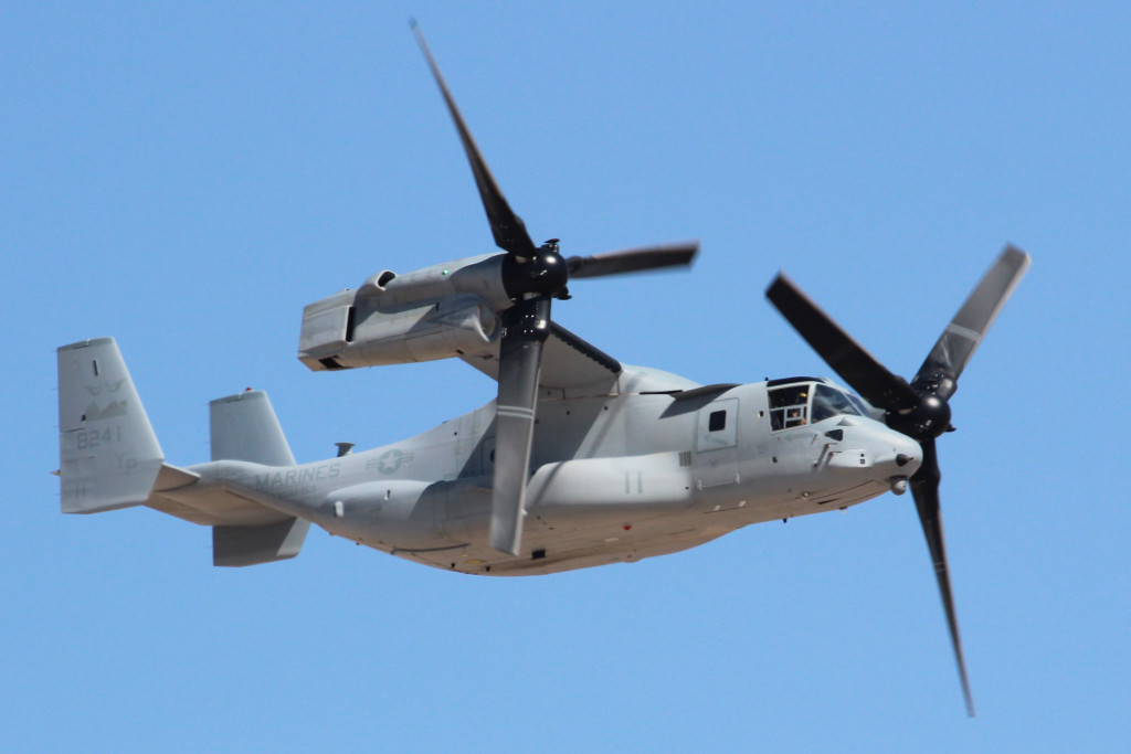 MV-22 Osprey VMM - 163 Ridge Runners, March 2013 NAF El Centro Airsopw
