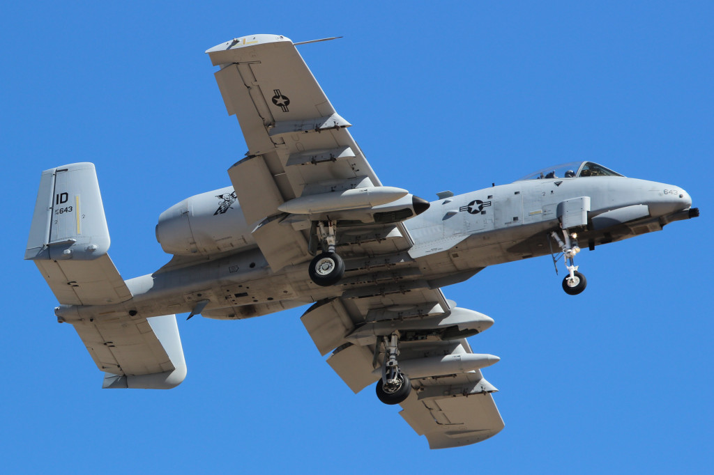 A-10 Thunderbolt II 124 FW Gowen Field ANGB, March 2013 Davis-Monthan AFB