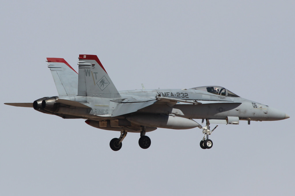 F-18C VMFA-232 Red Devils, March 2013 MCAS Yuma