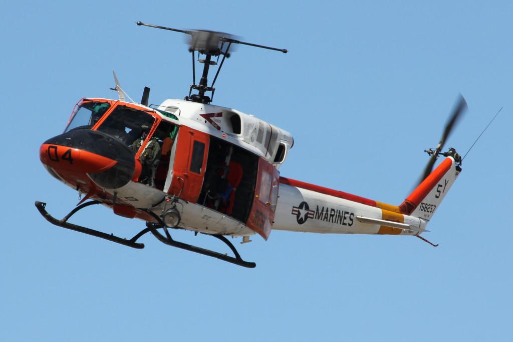HH-1 N Twin Huey, March 2013 MCAS Yuma Airshow
