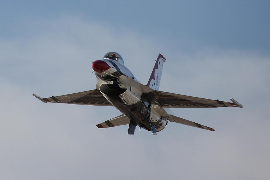 Thunderbirds low pass