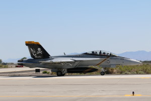 F/A-18F 166620 from VF-103 'Jolly Rogers' captured in July 2015 on NAS Fallon while do some fighting with the based NASWC.