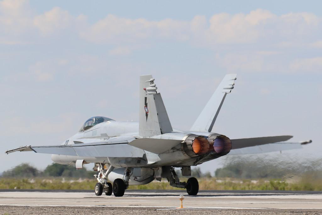 F/A-18E NSAWC